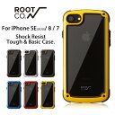 【ROOT CO.】iPhoneSE(第2世代/2020) iPhone8 iPhone7 ケース GRAVITY Shock Resist Tough & Basic Case.【 アイフォ…