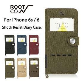 【ROOT CO.】iPhone6s iPhone6 ケース 手帳型 GRAVITY Shock Resist Diary Case. Window Flip【 アイフォン6s アイフォン6 スマホケース 耐衝撃 手帳型ケース 窓付き ダイアリーケース コーデュラ 】