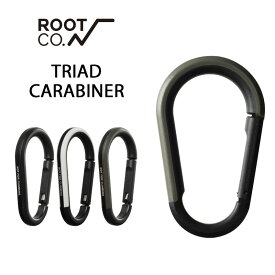 【ROOT CO.】GRAVITY TRIAD CARABINER 落下防止カラビナ