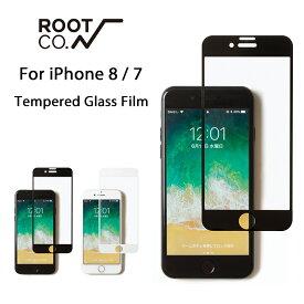 【ROOT CO.】iPhone8 iPhone7 ガラスフィルム GRAVITY Tempered Glass Film【 強化ガラスフィルム フィルム 保護フィルム アイフォン8 アイフォン7 】