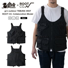 【ROOT CO.】grn outdoor TEBURA VEST ROOT CO. Collaboration Model