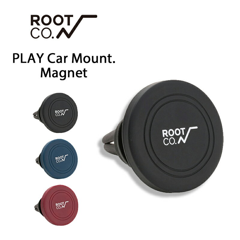 ROOT CO. PLAY Car Mount. /Magnet/silicon