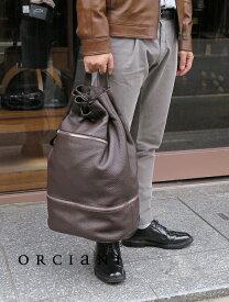 ワンショルダーバッグ/ダッフルバッグ【ORCIANI/オルチアーニ】orc341803−ブラウン