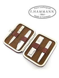 グルーミングセット【F.HAMMANN/ハンマン】ham360401−ブラウン