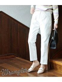 [Rakuten Fashion]【WRANGLER×ROPE'PICNIC】ルーミージーンズ ROPE' PICNIC ロペピクニック パンツ/ジーンズ ジーンズその他 ホワイト ネイビー ブルー【送料無料】