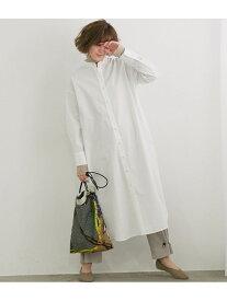 [Rakuten Fashion]【TRUE COTTON】テンセルシャツワンピース ROPE' PICNIC ロペピクニック ワンピース シャツワンピース ホワイト ベージュ グリーン【先行予約】*【送料無料】