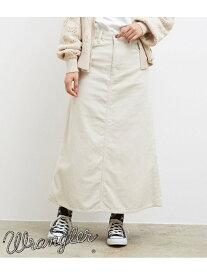 [Rakuten Fashion]【SALE/52%OFF】【一部店舗限定】【WRANGLER×ROPE'PICNIC】コーデュロイフレアスカート ROPE' PICNIC ロペピクニック スカート スカートその他 ホワイト ブラック【RBA_E】