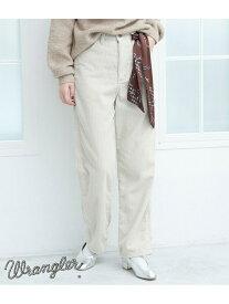 [Rakuten Fashion]【WRANGLER×ROPE'PICNIC】【一部店舗限定】コーデュロイストレートパンツ ROPE' PICNIC ロペピクニック パンツ/ジーンズ パンツその他 ホワイト ブラック【送料無料】