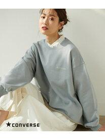 【別注カラー:イエロー】【CONVERSE】裏毛ロゴ刺繍プルオーバー ROPE' PICNIC ロペピクニック カットソー スウェット ブルー ホワイト イエロー【送料無料】[Rakuten Fashion]
