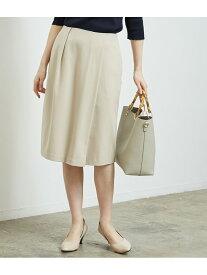 [Rakuten Fashion]【SALE/50%OFF】タックタイトスカート ROPE' PICNIC ロペピクニック スカート スカートその他 ベージュ ブラック【RBA_E】