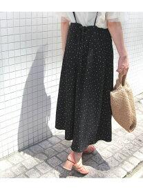 [Rakuten Fashion]【SALE/60%OFF】【WEB限定】サスペンダー付きフレアスカート ROPE' PICNIC ロペピクニック スカート スカートその他 ブラック【RBA_E】