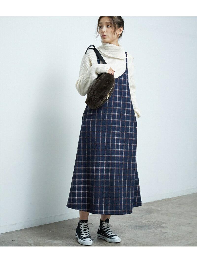 [Rakuten BRAND AVENUE]カラーウィンドペンキャミワンピース ROPE' PICNIC ロペピクニック スカート【送料無料】