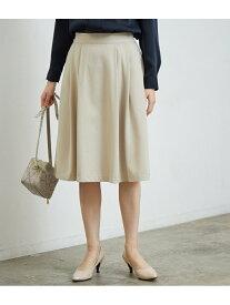 [Rakuten Fashion]【SALE/60%OFF】タックフレアスカート ROPE' PICNIC ロペピクニック スカート スカートその他 ベージュ ネイビー ブルー【RBA_E】