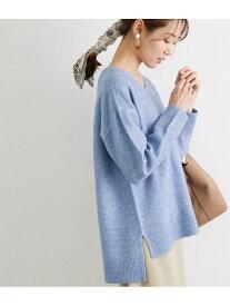 【SALE/42%OFF】スパンコールニットロングプルオーバー ROPE' PICNIC ロペピクニック ニット ニットその他 ブルー ホワイト ベージュ ピンク【RBA_E】[Rakuten Fashion]