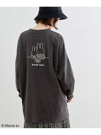 【miffy*ROPE' PICNIC】アソートロングTシャツ ROPE' PICNIC ロペピクニック カットソー カットソーその他 グレー ホワイト イエロー[Rakuten Fashion]