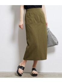 [Rakuten Fashion]【SALE/60%OFF】カットソーアイラインスカート ROPE' PICNIC ロペピクニック スカート スカートその他 ブラック ベージュ カーキ【RBA_E】