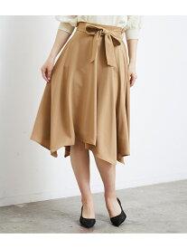 [Rakuten Fashion]【SALE/60%OFF】ランダムヘムスカート ROPE' PICNIC ロペピクニック スカート スカートその他 ベージュ グレー ネイビー ピンク【RBA_E】