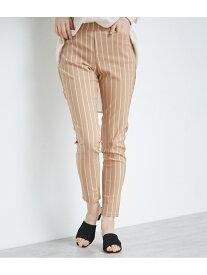 [Rakuten Fashion]【SALE/75%OFF】【7サイズ展開】カラーストライプ/無地パンツ ROPE' PICNIC ロペピクニック パンツ/ジーンズ パンツその他 ベージュ グリーン ネイビー【RBA_E】