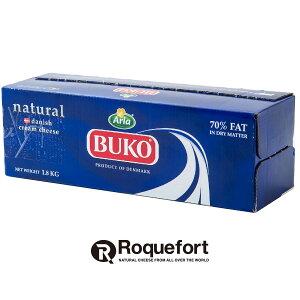 BUKO ブコクリームチーズ 1.8kg|デンマーク産 BUKO クリームチーズ チーズケーキ チーズ専門店 業務用