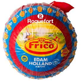 エダム チーズ ハード 赤玉 約1.6kg 不定貫 【1kgあたり税抜2,100円】|オランダ産 フリコ ハードチーズ チーズ専門店 業務用