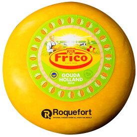 ゴーダ チーズ ワックス 約4.5kgカット 不定貫【1kgあたり税抜1,750円】 | オランダ・フリコ・セミハード・チーズ専門店・業務用