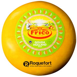 ゴーダ チーズ ワックス 約4.5kg 不定貫【1kgあたり税抜1,750円】|オランダ産 フリコ セミハードチーズ チーズ専門店 業務用