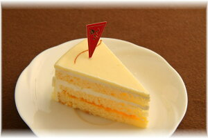 昔懐かしのレトロな味わい・バタークリームケーキ カットタイプ(ホワイトデー)(ひな祭り)(バースデーケーキ)(敬老の日)