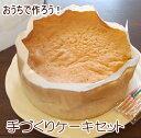 【送料無料】おうちで作ろう!手作り デコレーションケーキセット スポンジ 生クリーム 絞り袋 バースデーケーキ 巣ご…