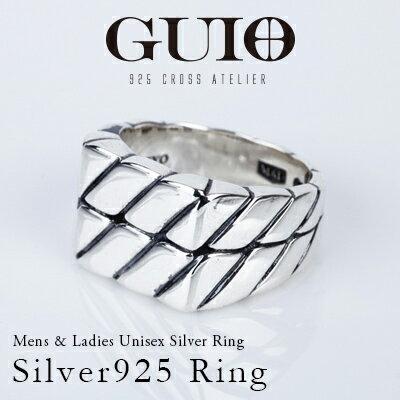 GUIO+【グイオ+】シルバー925 リング レディース メンズシルバーリング silver925 銀 シルバーアクセサリ 送料無料 男女兼用 指輪 SV925 ジュエリー made in tokyo japan 日本製 ハンドメイド GUIO 楽天スーパーSALE