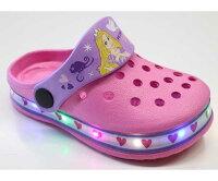 光る靴ラプンツェルディズニープリンセスサンダルキッズシューズ子供靴キッズサンダル女の子光るサンダル7552