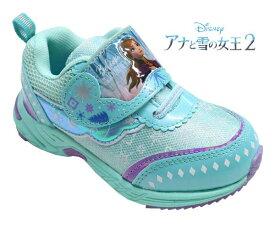 送料無料 アナと雪の女王2 アナ雪 エルサ ディズニープリンセス Disneyzone ディズニーキッズ ディズニー 靴 キッズスニーカー キッズ 子供靴 女の子 1002-02 ディズニー靴