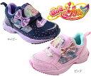 【Springセール】【HUGっと!プリキュア】【プリキュア 靴】【プリキュア】 キッズスニーカー ネイビー ピンク キッズシューズ キッズ 子供靴 女の子 5092