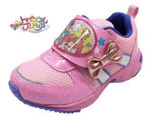 スタートゥインクルプリキュア プリキュア靴 プリキュア 7504 キッズスニーカー ピンク キッズシューズ キッズ 子供靴 女の子 キャラクターシューズ