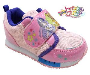 送料無料 スター トゥインクルプリキュア プリキュア靴 プリキュア 7624 キッズスニーカー ピンク キッズシューズ キッズ 子供靴 女の子 キャラクターシューズ