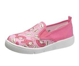 マイメロディ キッズシューズ スリッポン 女の子 サンリオ キッズスニーカー 上履き 子供靴 新入学・新学期 P068 アサヒ靴 日本製 KC35322