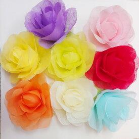 【ジャイアントフラワー 手作りキット ミニローズ】 Giant Flower ジャイアント フラワー 花径約15cm 結婚式 誕生日 ハロウィン パーティー装飾