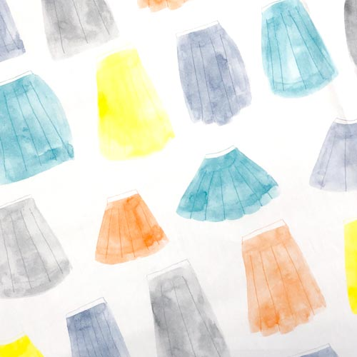【KAYOAOYAMA】skirtデザイナーズカットクロス【1枚単位販売】