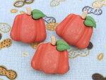 【輸入ボタン】ButtonsGaloreボタン3個セットFallFriends(Pumpkins)かぼちゃ/南瓜