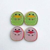 【ヨーロッパ製ボタン】birdy鳥ボタン1個単位での販売です。
