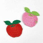 りんごモチーフ【1個売り】【フランスメーカー】(SM-3763-りんご)