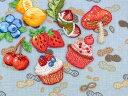 フルーツ&スイーツ[イチゴ、チェリー、レモン、ブルーベリー、カップケーキ(ベリー)、カップケーキ(チェリー)、ドン…