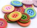 【ヨーロッパ製ボタン】ツートーン ボタン28mm1個単位での販売です。