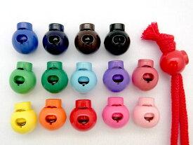 カラフル コードストッパー 選べるカラーは14色♪【1個売り】パーツ