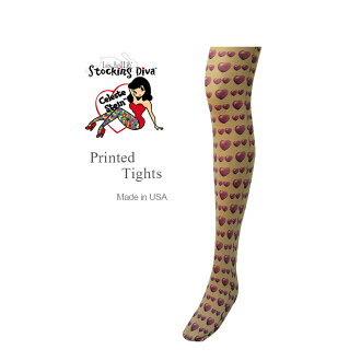 Ladies nude tights brand color stockings made in USA made in Italy fabrics pattern floral tattoo tights