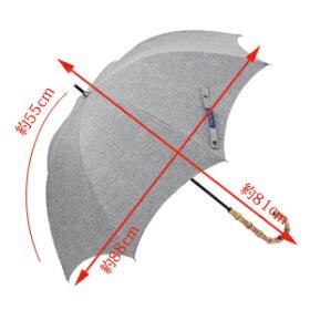 100%完全遮光プレーンミドルサイズダンガリーグレー55cm【RoseBlanc】99%ではダメなんです!涼感晴雨兼用傘ブランドUV日傘UVカット軽量涼しい紫外線カット紫外線対策傘エイジングケア1級遮光16母の日ギフト【RCP】532P19Mar16