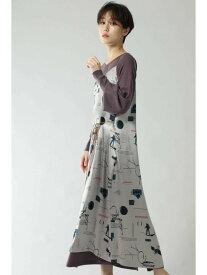 [Rakuten Fashion]キャミソールナローワンピース ROSE BUD ローズバッド ワンピース ワンピースその他 ベージュ ブラウン【送料無料】