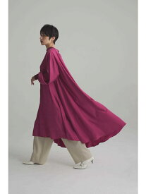 [Rakuten Fashion]スタンドカラーワンピース ROSE BUD ローズバッド ワンピース ワンピースその他 パープル カーキ【送料無料】