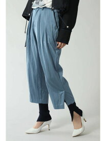 【SALE/64%OFF】サテンタックパンツ ROSE BUD ローズバッド パンツ/ジーンズ パンツその他 ブルー カーキ【RBA_E】【送料無料】[Rakuten Fashion]