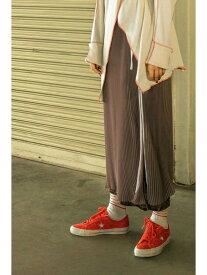 【SALE/64%OFF】ラッププリーツスカート ROSE BUD ローズバッド スカート スカートその他 グレー グリーン【RBA_E】【送料無料】[Rakuten Fashion]