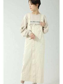 【SALE/55%OFF】マルチウェイジャンパースカート ROSE BUD ローズバッド スカート スカートその他 ベージュ ブラウン【RBA_E】【送料無料】[Rakuten Fashion]